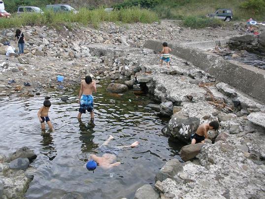 今日は小樽祝津の海水浴場 1.jpg